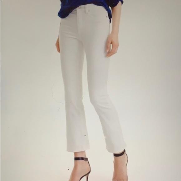 a49caeda691 J. Crew Jeans | J Crew Billie Demi Boot Crop White Size 29 | Poshmark